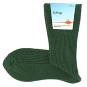 HJ 'Softop' Wool Mix - Green Melange