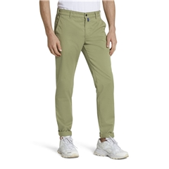 M5 By Meyer 'Fit' Cotton Twill - Green 6140 24