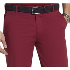Meyer Shorts - Red with Navy Trim