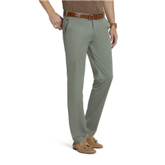 New 2021 Meyer Cotton Trousers - Olive -  Oslo 5038 26 - Continental Sizing