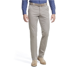 New 2021 Meyer Summer Cotton Trouser - Taupe Oslo 3001 35 - Continental Sizing