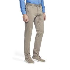 New 2021 Meyer Summer Cotton Trouser - Camel Oslo 3001 43 - Continental Sizing