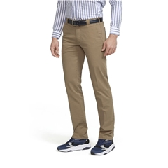 Meyer Trouser Soft Cotton Chino - Camel - Roma 316 42 - Continental Sizing