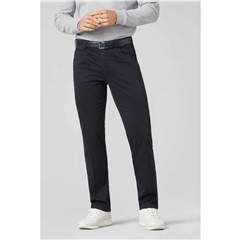 Meyer Cotton Trousers - Navy -  Diego 3000 18 - Continental Sizing