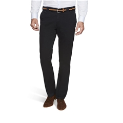 New Autumn 2021 Meyer Cotton Trousers - Navy - Oslo 5552 18 - Continental Sizing