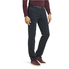 New Autumn 2021 Meyer Cotton Trousers - Navy - Chicago 5568 19 - UK Inch Sizes