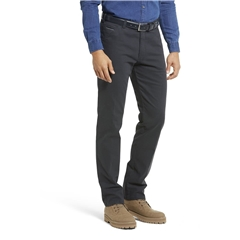 New Autumn 2021 Meyer Cotton Trousers - Charcoal - Chicago 5566 08