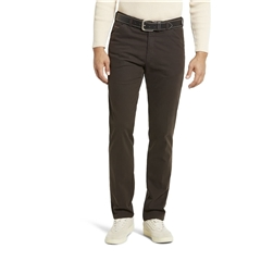 New Autumn 2021 Meyer Cotton Trousers - Brown - Chicago 5566 37