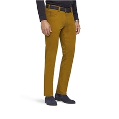New Autumn 2021 Meyer Cotton Trousers - Cognac - Diego 5552 42 - Continental Sizing