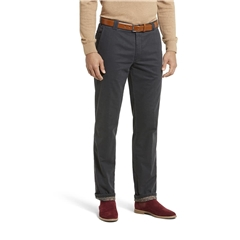 Meyer Thermal Cotton Trouser - Grey - Roma 3915 07 - Continental Sizing