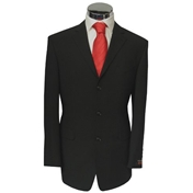 'Modern Mix' Two Piece Suit - Colour: Black