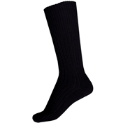 Commando Half Hose Socks - Black