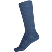 Commando Half Hose Socks - Airforce Blue