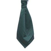 Men's Wedding Cravat- Bottle Green