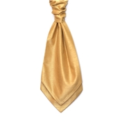 Men's Shantung Wedding Cravat- Straw