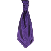 Men's Wedding Cravat- Purple