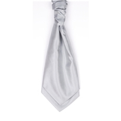 Boy's Wedding Cravat- Grey