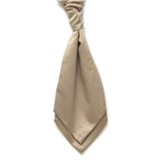 Boy's Satin Wedding Cravat- Beige