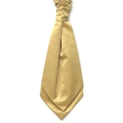Boy's Satin Wedding Cravat- Gold
