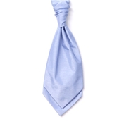 Boy's Shantung Wedding Cravat- Sky Blue
