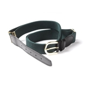 Green Elasticated Webbing Belt- One Size Fits All