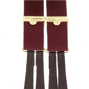 Standard Button-On Brace - Maroon