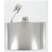 4oz Polished Steel Excellent Quality Hip Flask
