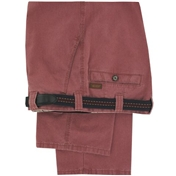 """Meyer Cotton Fade Out Trouser - Red - 52"""" Long Only"""