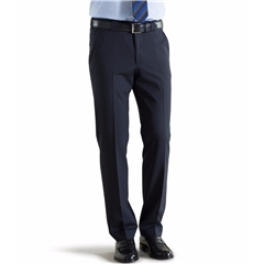 Meyer Trouser Fine Tropical Wool Mix - Navy - Roma 344 17