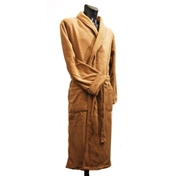 Fleece Dressing Gown - Camel