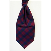 Boy's Silk Shantung Wedding Cravat- Tartan Lindsay