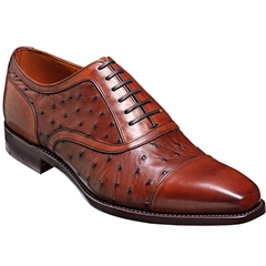 Barker Shoes Style: Puccini - Brown Calf / Ostrich