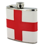 St George's Flag Hip Flask