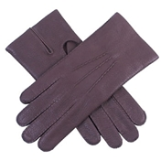 Dents Men's Deerskin Leather Gloves - Bark