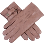 Dents Men's Deerskin Leather Gloves - Tobacco
