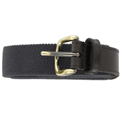 Plain Webbing Belt - Black