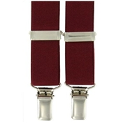 Burgundy Clip On Brace
