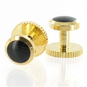 Dress Studs - Gold/Black