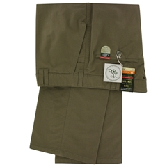 Club of Comfort Trouser - Brushed Cotton Chino - Khaki