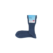 HJ Hall Cotton Mix Softop Men's Socks - Slate Blue