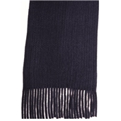 Navy Acrylic Fashion Scarf
