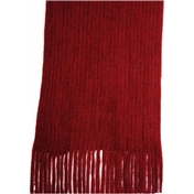 Wine Acrylic Fashion Scarf