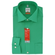 New 2014 Olymp Deep Green Shirt - Modern Fit & Xlong Sleeves