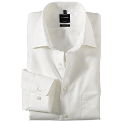 Olymp Modern Fit Half Sleeved Shirt - Beige - 0300 64 21