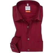 New for Autumn 2014 - Olymp Dark Red Shirt - Modern Fit