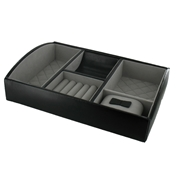 Luxury Gents Night Box - Chrome Black