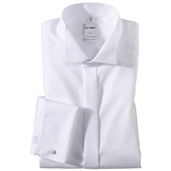 Olymp White Evening Dress Shirt - Wing Collar - Comfort Fit