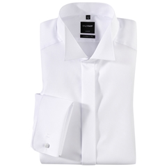 Olymp White Evening Dress Shirt - Wing Collar - Modern Fit