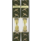 Flying Pheasant Braces - Green