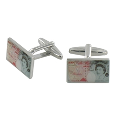 £50.00 Pound Note Cufflinks